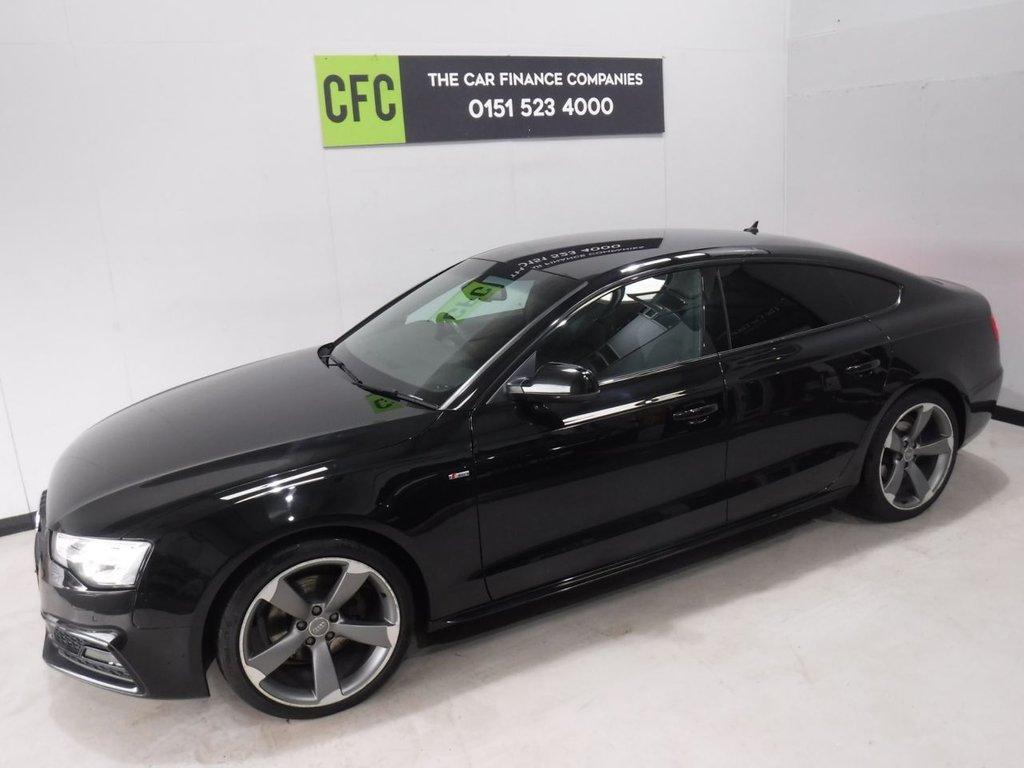 2014 Audi A5 Sportback TDI Black Edition S/S £14,500 | Audi A5 Sportback Black Edition |  | The Car Finance Companies
