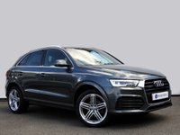 USED 2015 15 AUDI Q3 2.0 TFSI QUATTRO S LINE PLUS 5d AUTO 178 BHP 1 Owner From New with Full Audi Main Dealer Service History & 2.0l Petrol......