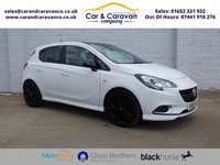 USED 2015 15 VAUXHALL CORSA 1.4 LIMITED EDITION 5d 89 BHP Full Service History A/C DAB Buy Now, Pay Later Finance!