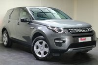 "USED 2016 16 LAND ROVER DISCOVERY SPORT 2.0 TD4 HSE 5d 150 BHP NAV+LEATHER TRIM+PAN ROOF+PRIV GLASS+18""ALLOYS+CLIMATE CONTROL+PARKING SENSORS+CRUISE CONTROL+SEAT MEMORY+REVERSE CAMERA+1 KEEPER+FSH"