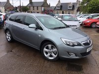 USED 2011 61 VAUXHALL ASTRA 2.0 SRI CDTI S/S 5d 163 BHP SENSIBLE MILEAGE DIESEL ESTATE  WITH FULL SERVICE HISTORY