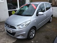 USED 2013 63 HYUNDAI I10 1.2 ACTIVE 5d AUTO 85 BHP LOW MILEAGE AUTOMATIC WITH SERVICE HISTORY