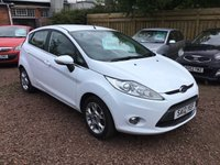 USED 2012 12 FORD FIESTA 1.2 ZETEC 5d 81 BHP GREAT LOW MILEAGE EXAMPLE WITH FULL SERVICE HISTORY