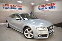 USED 2011 61 AUDI A5 2.0 TDI S LINE 2d 168 BHP Xenons, Bang Olufsen, Bluetooth, DAB radio, Full Leather