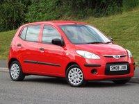 2008 HYUNDAI I10 1.1 CLASSIC 5d 65 BHP £2895.00