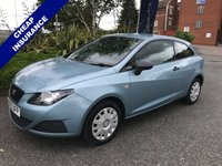 USED 2010 59 SEAT IBIZA 1.2 S A/C 3d 69 BHP Low Insurance