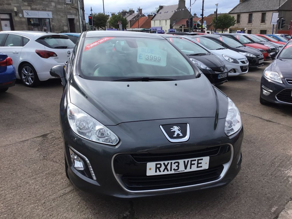 2013 Peugeot 308 HDI Active £4,000