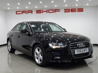 """USED 2013 63 AUDI A4 2.0 TDI SE TECHNIK S TRONIC QUATTRO 4dr..NAV..LEATHER 17""""+PARKING AID+HEATED LEATHERS+NAV+CLIMATE+CRUISE"""