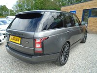 USED 2016 66 LAND ROVER RANGE ROVER 3.0 TD V6 Vogue SE 4X4 (s/s) 5dr Black Pack