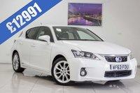 2013 LEXUS CT 1.8 200H PREMIER 5d AUTO 136 BHP £12991.00