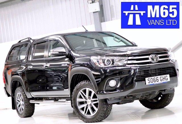2016 66 TOYOTA HI-LUX NO VAT 2.4 INVINCIBLE 4WD D-4D DOUBLE CAB 148 BHP LOW MILEAGE PICKUP