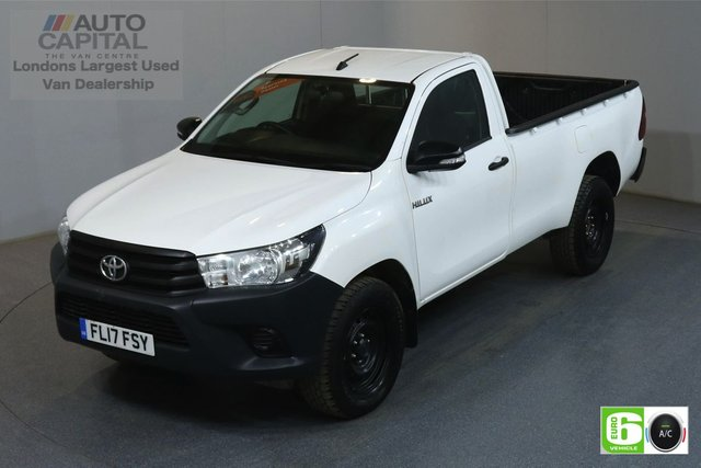 2017 17 TOYOTA HI-LUX 2.4 ACTIVE 4WD D-4D 148 BHP AIR CON EURO 6 AIR CONDITIONING, ECO DRIVE