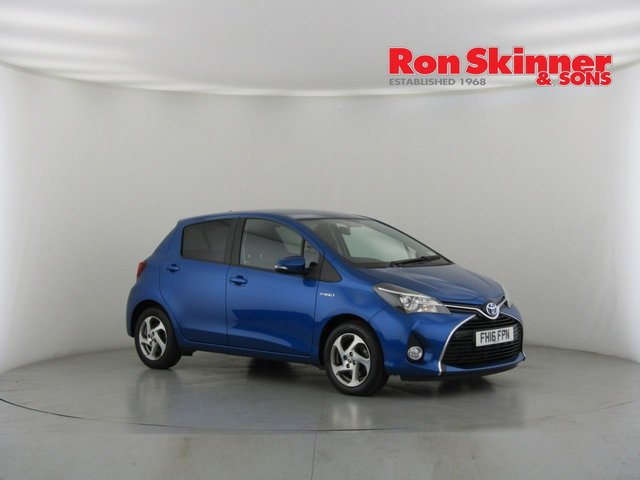 View our 2016 16 TOYOTA YARIS 1.5 VVT-I ICON M-DRIVE S 5d AUTO 73 BHP