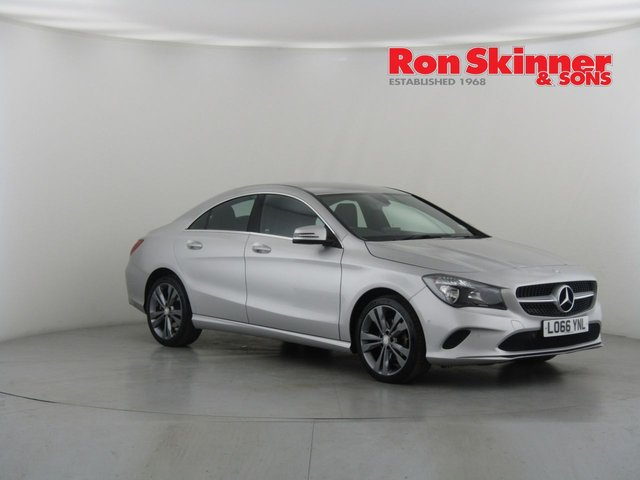 View our 2017 66 MERCEDES-BENZ CLA 2.1 CLA 200 D SPORT 4d 134 BHP