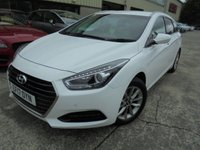 USED 2017 17 HYUNDAI I40 1.7 CRDI SE NAV BLUE DRIVE 5d 114 BHP Excellent Condition, Great Sized Family Estate, Only One Owner, FSH, No Deposit Finance Available
