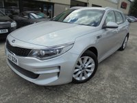 USED 2017 17 KIA OPTIMA 1.7 CRDI 2 ISG 5d 139 BHP Ecellent Condition, FSH, No Deposit Necessary, No Fee Finance Available, Part Ex Welcomed, Manufacturer's Warranty