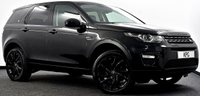 USED 2016 16 LAND ROVER DISCOVERY SPORT 2.0 TD4 HSE Black 4X4 (s/s) 5dr  Pan Roof, Black Pack, Camera +