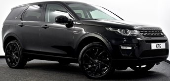 2016 LAND ROVER DISCOVERY SPORT 2.0 TD4 HSE Black 4X4 (s/s) 5dr  £26495.00