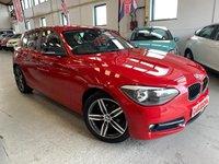 USED 2012 05 BMW 1 SERIES 2.0 116D SPORT 5d 114 BHP