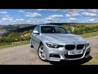 USED 2013 63 BMW 3 SERIES 2.0 318D M SPORT 4d 141 BHP M-sport with full Bmw history.