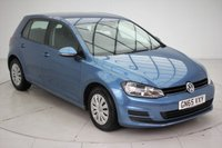 USED 2015 65 VOLKSWAGEN GOLF 1.2 S TSI BLUEMOTION TECHNOLOGY 5d 85 BHP