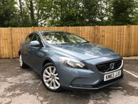 USED 2013 63 VOLVO V40 2.0 D3 SE LUX NAV 5d AUTO 148 BHP Sat-Nav, Full Leather Interior, Full Service History