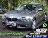 2012 BMW 1 SERIES 2.0 120D SE 3d 181 BHP £9995.00