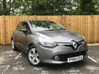 USED 2014 64 RENAULT CLIO 1.5 DYNAMIQUE MEDIANAV ENERGY DCI S/S 5d 90 BHP Sat-Nav, Full Service History, Free Road Tax