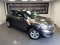 USED 2014 14 MINI PACEMAN 1.6 COOPER D ALL4 3d 112 BHP + 2 KEYS + PARK SENSORS