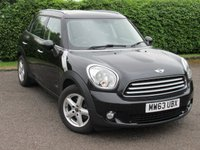 USED 2013 63 MINI COUNTRYMAN 1.6 COOPER D ALL4 5d * 128 POINT AA INSPECTED * SERVICE HISTORY * 6 SPEED *