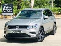USED 2017 VOLKSWAGEN TIGUAN 2.0 SE TDI BMT 5d 148 BHP Local car, 1 owner, Full VW service history, Towbar, Mudflaps