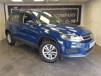 USED 2012 61 VOLKSWAGEN TIGUAN 2.0 S TDI BLUEMOTION TECHNOLOGY 5d + SERVICE HISTORY
