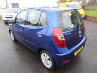 USED 2012 12 HYUNDAI I10 1.2 ACTIVE 5d 85 BHP 3 Months National Warranty - MOT One Year for New Owner