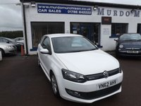 USED 2012 62 VOLKSWAGEN POLO 1.2 BLUEMOTION TDI 3d 74 BHP