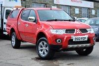 2012 MITSUBISHI L200 2.5 DI-D 4X4 BARBARIAN LB DCB 1d 175 BHP £12775.00