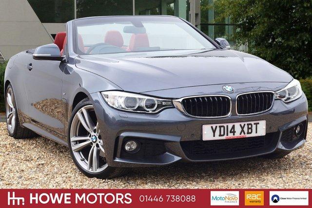 2014 14 BMW 4 SERIES 2.0 420D M SPORT 2d 181 BHP PROFESSIONAL NAVIGATIOB PRO AUDIO WITH DAB COARL RED HEATED DAKOTA LEATHER PDC