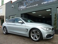 2015 BMW 4 SERIES 2.0 418D SPORT GRAN COUPE 4d AUTO (BUSINESS MEDIA) 141 BHP £15995.00