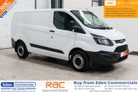 USED 2017 17 FORD TRANSIT CUSTOM 2.0 290 LR P/V *FORD WARRANTY UNTIL JULY 2020*