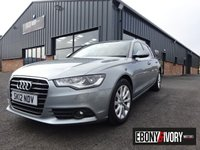 USED 2012 12 AUDI A6 3.0 TDI SE 5DR MULTITRONIC + FULLY SERVICED