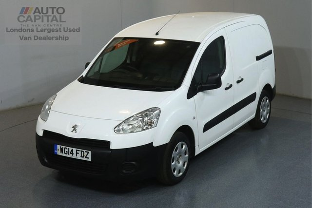 2014 14 PEUGEOT PARTNER 1.6 HDI PROFESSIONAL 625 74 BHP SWB AIR CON ONE OWNER, SERVICE HISTORY
