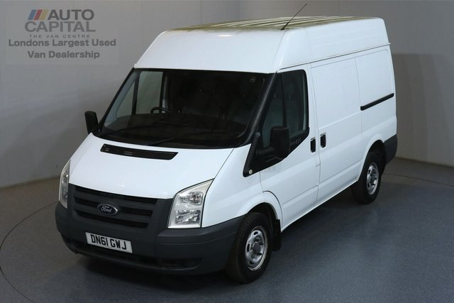 2011 61 FORD TRANSIT 2.2 260 L1H2 SWB 85 BHP  ONE OWNER FROM NEW