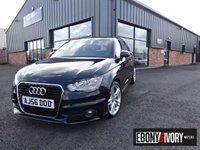 USED 2012 56 AUDI A1 1.6 TDI S LINE 3DR + FULL SERVICE HISTORY + FREE PRIVATE PLATE