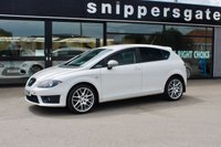 USED 2010 10 SEAT LEON 2.0 FR CR TDI 5d 168 BHP We have the pleasure of offering a fantastic t Seat Leon FR in White, Great service history including recent timing belt change, Upgraded Seat BBS Alloys, Multi Function Steering Wheel, Window Wind Deflectors, Privacy Glass.