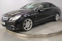 USED 2011 61 MERCEDES-BENZ E CLASS 3.0 E350 CDI BLUEEFFICIENCY SPORT 2d AUTO 265 BHP