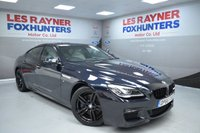 USED 2016 66 BMW 6 SERIES GRAN COUPE 3.0 640D M SPORT GRAN COUPE 4d AUTO 309 BHP Sat Nav, Cruise control, Bluetooth, Full Leather, Park sensors