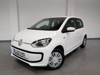 USED 2013 62 VOLKSWAGEN UP 1.0 MOVE UP 5 Door £20 PA road tax and up to 62 MPG