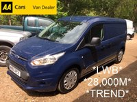 USED 2015 65 FORD TRANSIT CONNECT *3 SEAT* 1.6 TDCi 210 TREND 94 BHP *28,000 MILES*