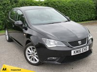 USED 2016 16 SEAT IBIZA 1.0 VISTA 5d * TWO OWNERS FROM NEW * DAB RADIO * 12 MONTHS AA BREAKDOWN COVER *