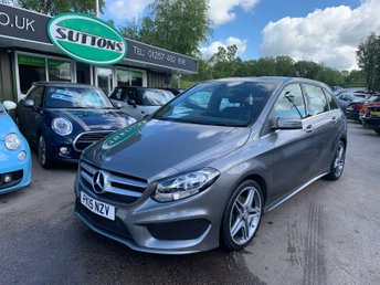 Used Mercedes Benz B Class Cars In Chorley From Sutton Motor