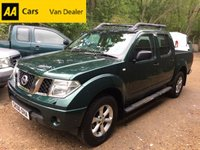 2006 NISSAN NAVARA 2.5 OUTLAW DCI 4X4 174 BHP Manual *LOW MILES*NO VAT* £3995.00